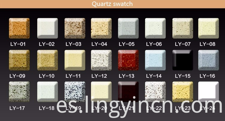 7 Quartz Color Options
